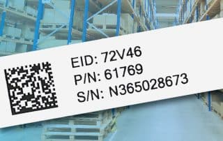 Factors to consider with an IUID label