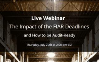 FIAR Directorate Webinar